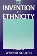 Pdf The Invention of Ethnicity