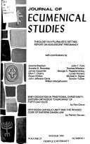 Journal of Ecumenical Studies