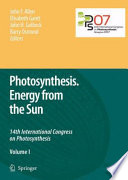Photosynthesis  Energy from the Sun