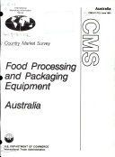 Food Processing and Packaging Equipment  Australia Book