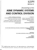 Proceedings of the ASME Dynamic Systems and Control Division Book