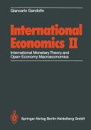 International Economics II Pdf/ePub eBook