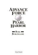 Advance Force Pearl Harbor Book PDF