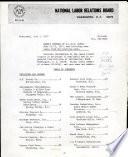 Weekly Summary of N.L.R.B. Cases