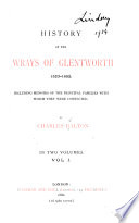 History of the Wrays of Glentworth 1523-1852