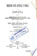 Derecho civil general y foral de España