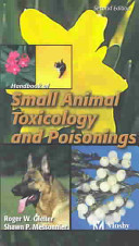 Handbook of Small Animal Toxicology and Poisonings Book