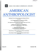 american anthropologist Book