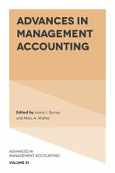 Advances in Management Accounting Pdf/ePub eBook