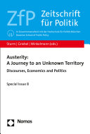 Austerity  A Journey to an Unknown Territory