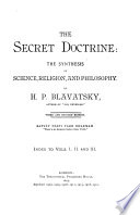 The Secret Doctrine Book PDF