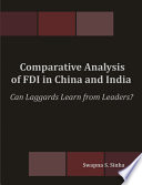 Comparative Analysis Of Fdi In China And India Book PDF