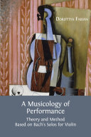 A Musicology of Performance