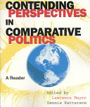 Contending Perspectives In Comparative Politics  A Reader