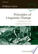 Principles Of Linguistic Change Volume 3