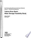 Yakima River Basin Water Storage Feasibility Study