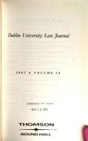Dublin University Law Journal