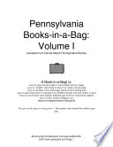 The Pennsylvania Book In A Bag