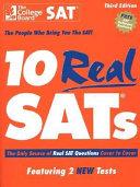 10 Real SATs Book