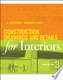 Construction Drawings and Details for Interiors Book
