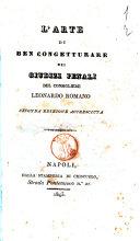 L'arte di ben congetturare nei giudizi penali del consigliere Leonardo Romano