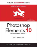 Photoshop Elements Ten for Windows and Mac OS X