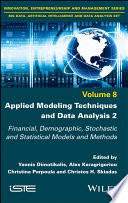 Applied Modeling Techniques and Data Analysis 2 Book