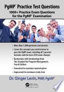 Pgmp Practice Test Questions