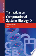 Transactions on Computational Systems Biology IX