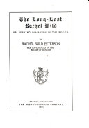 The Long lost Rachel Wild  Book