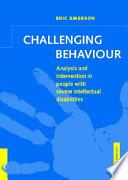 Challenging Behaviour Book