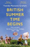 British Summer Time Begins Pdf/ePub eBook