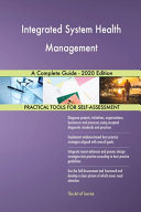 Integrated System Health Management A Complete Guide   2020 Edition