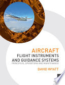 Aircraft Flight Instruments And Guidance Systems Book PDF