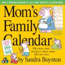 Mom's Family 2019 Calendar