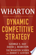 Wharton On Dynamic Competitive Strategy PDF