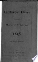 Cambridge Essays Book