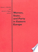 Women State And Party In Eastern Europe
