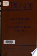 Logarithmic And Mathematical Tables Book PDF