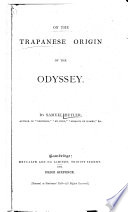 On the Trapanese Origin of the Odyssey