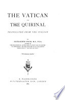 The Vatican and the Quirinal
