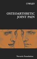 Osteoarthritic Joint Pain Book