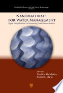 Nanomaterials For Water Management Book PDF