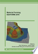 Material Forming Esaform 2015 Book PDF