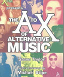 The A to X of Alternative Music Book