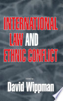 International Law And Ethnic Conflict