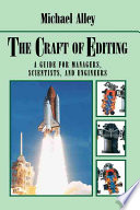 The Craft of Editing Book