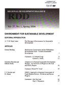 Regional Development Dialogue
