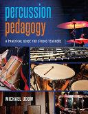 Percussion Pedagogy Book PDF