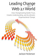Leading Change in a Web 2.1 World